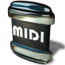 96x96px size png icon of File MIDI