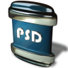 96x96px size png icon of File PSD