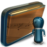 96x96px size png icon of Folder My Shared Music