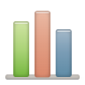 96x96px size png icon of bar chart