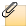 96x96px size png icon of clip