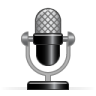 96x96px size png icon of microphone