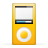 96x96px size png icon of mp3 player