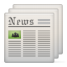 96x96px size png icon of newspaper