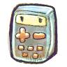96x96px size png icon of G12 Calculator