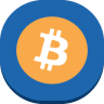 96x96px size png icon of bitcoin