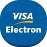 96x96px size png icon of visa electron