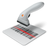 96x96px size png icon of bar code
