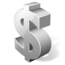 96x96px size png icon of dollar