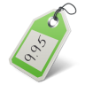 96x96px size png icon of price tag