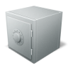 96x96px size png icon of safe