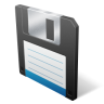 96x96px size png icon of save