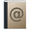 96x96px size png icon of Address book