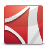 96x96px size png icon of Apps Adobe Reader