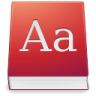 96x96px size png icon of Apps dictionary