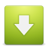 96x96px size png icon of Button download