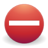 96x96px size png icon of Button error