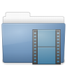 96x96px size png icon of Folder video