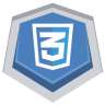 96x96px size png icon of CSS3