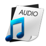 96x96px size png icon of Audio