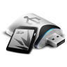 96x96px size png icon of USB Removable