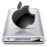 96x96px size png icon of Drives Apple