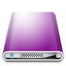 96x96px size png icon of Drives Colours Purple