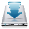 96x96px size png icon of Drives Downloads