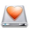 96x96px size png icon of Drives Favourites