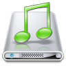 96x96px size png icon of Drives Music