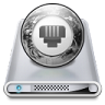 96x96px size png icon of Drives Network Offline