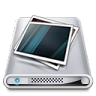 96x96px size png icon of Drives Pictures