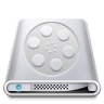 96x96px size png icon of Drives Videos