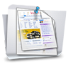 96x96px size png icon of Folders Documents
