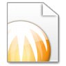 96x96px size png icon of Mimetypes BitComet Torrent File