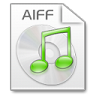 96x96px size png icon of Mimetypes aiff