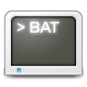 96x96px size png icon of Mimetypes bat