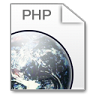 96x96px size png icon of Mimetypes php