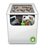 96x96px size png icon of Misc Recycle Bin Full
