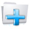96x96px size png icon of Toolbar Add Folder