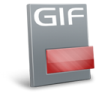 96x96px size png icon of File gif