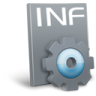 96x96px size png icon of File inf