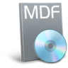96x96px size png icon of File mdf