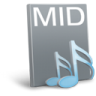 96x96px size png icon of File mid