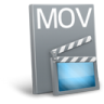 96x96px size png icon of File mov
