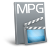 96x96px size png icon of File mpg