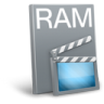 96x96px size png icon of File ram