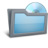 96x96px size png icon of Folder Disk