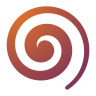 96x96px size png icon of Actions draw spiral