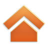 96x96px size png icon of Actions home